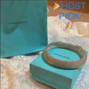Tiffany & Co. Somerset Mesh weave Bracelet